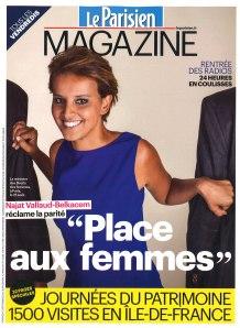 LE PARISIEN MAGAZINE COVER 13 09 13