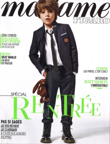 MADAME FIGARO 16-17 AOUT 2013 COVER