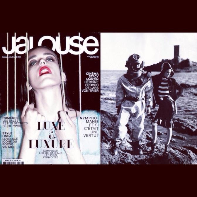 WANDA NYLON IN JALOUSE MAGAZINE – Novembre 2013