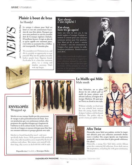MEESHA Press November 2013