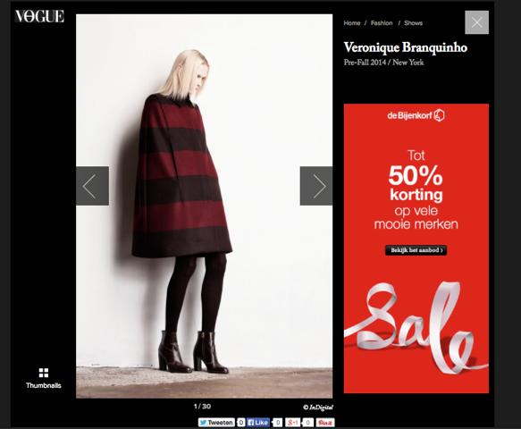 VERONIQUE BRANQUINHO x Vogue Netherlands