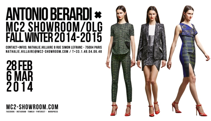 MC2 SHOWROOM X ANTONIO BERARDI