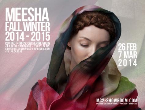 MEESHA X MC2 SHOWROOM