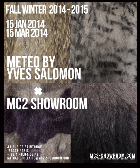 METEO BY YVES SALOMON X MC2SHOWROOM