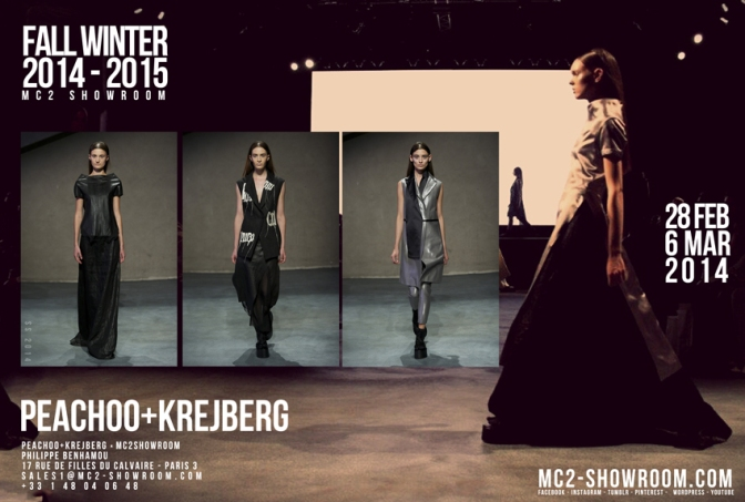 MC2 SHOWROOM X PEACHOO+KREJBERG