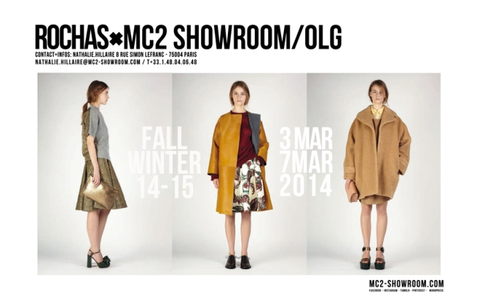 MC2 SHOWROOM X ROCHAS
