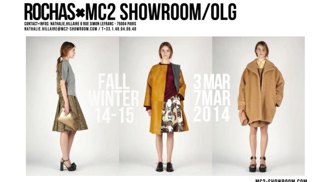 MC2 SHOWROOM X ROCHAS