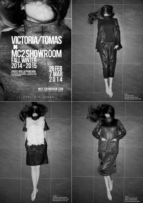 VICTORIA TOMAS X MC2SHOWROOM
