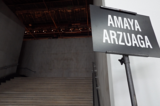 MC2 SHOWROOM X AMAYA ARZUAGA FALL WINTER 14-15 FASHION SHOW
