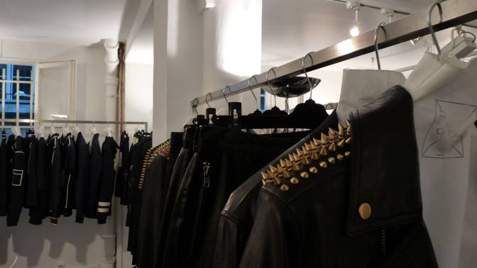 SS15 MEN'S FASHION WEEK AT MC2 SHOWROOM