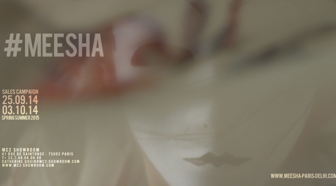 MC2 SHOWROOM TEASER FOR MEESHA SCARF SPRING SUMMER 2015 COLLECTION