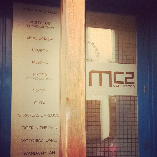 MC2 SHOWROOM FALL WINTER 2015 2016